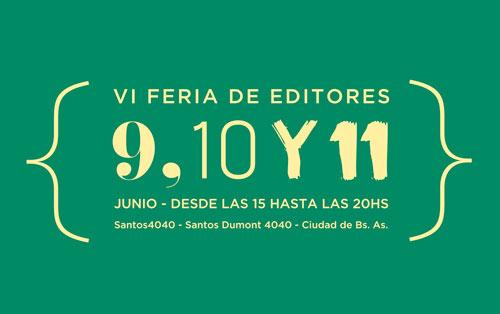 VI Feria de editores