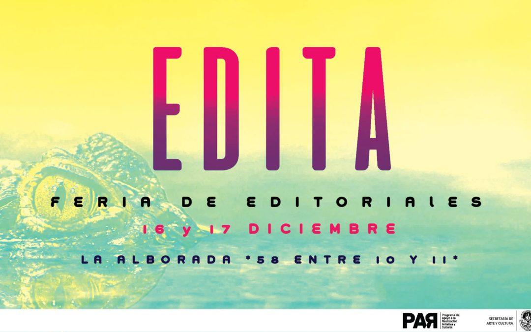 EDITA – Feria de Editoriales 2017, en La Plata