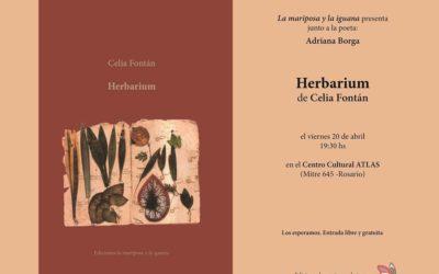 En Rosario: Presentación de Herbarium, de Celia Fontán