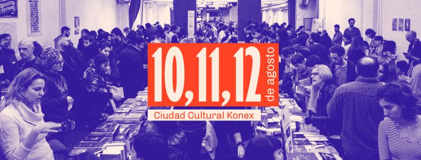 Feria de editoriales en el Konex